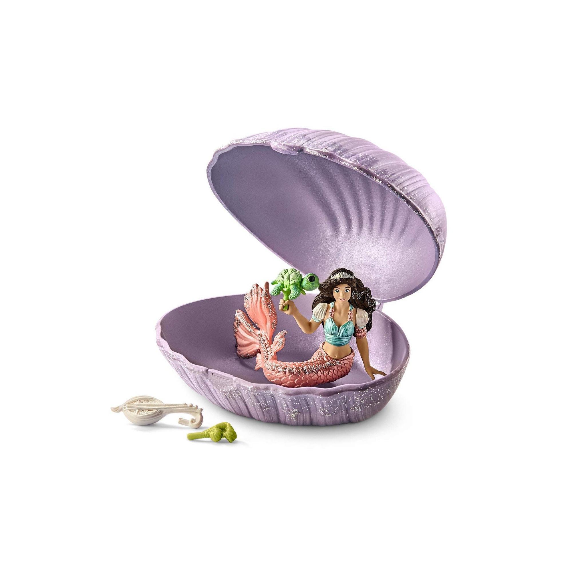 Schleich Mermaid with Turtle Figure Toy Figure 70562 New 2018 Bayala