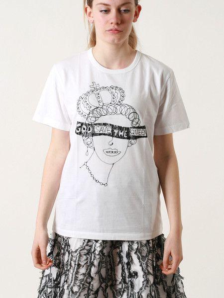 Queen white t-shirt
