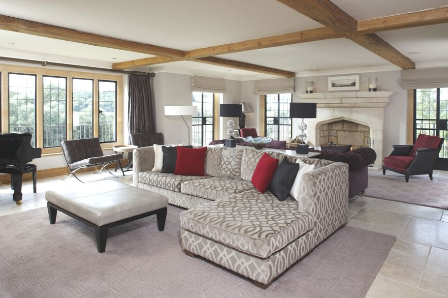 Luxury Elkstone House, England - http://www.adelto.co.uk/luxury-elkstone-house-england/   Elkstone House is Quintessentially Villas elegant, five-bedroom home, crafted from Cotswold stone with a thatched roof, sitting on the edge of Chipping Campden.