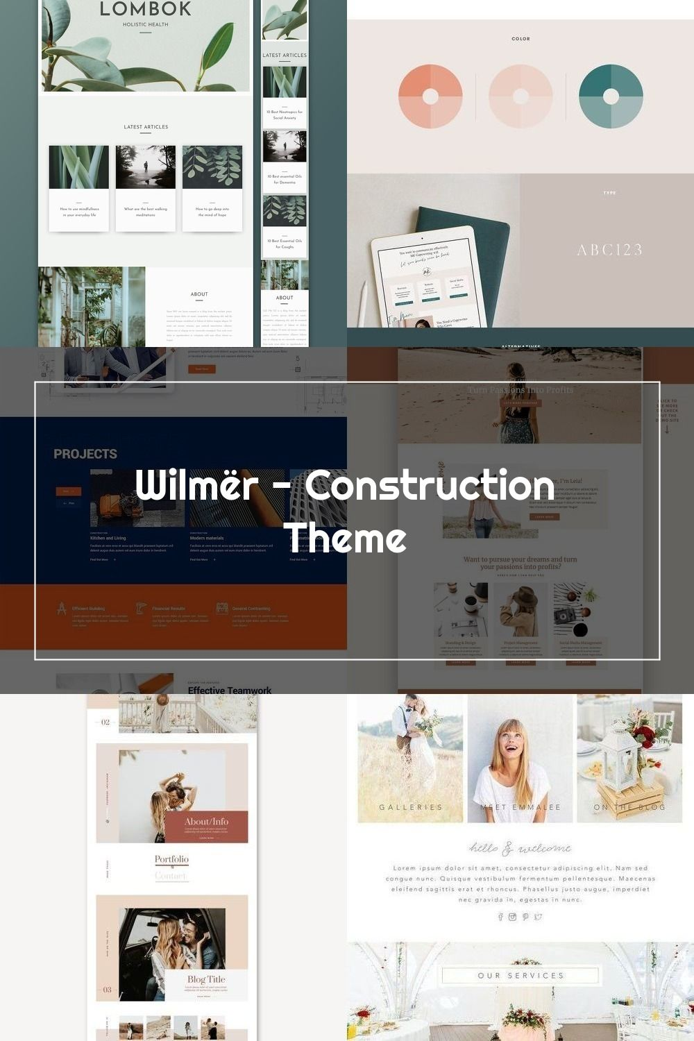 Construct the website with full power – it's easy with Wilmer, a construction WordPress theme.  #wordpress #theme #design #webdesign #uxdesign #uidesign #responsive #designinspiration #webdesign #wordpresslove #template #layout #websitedesign