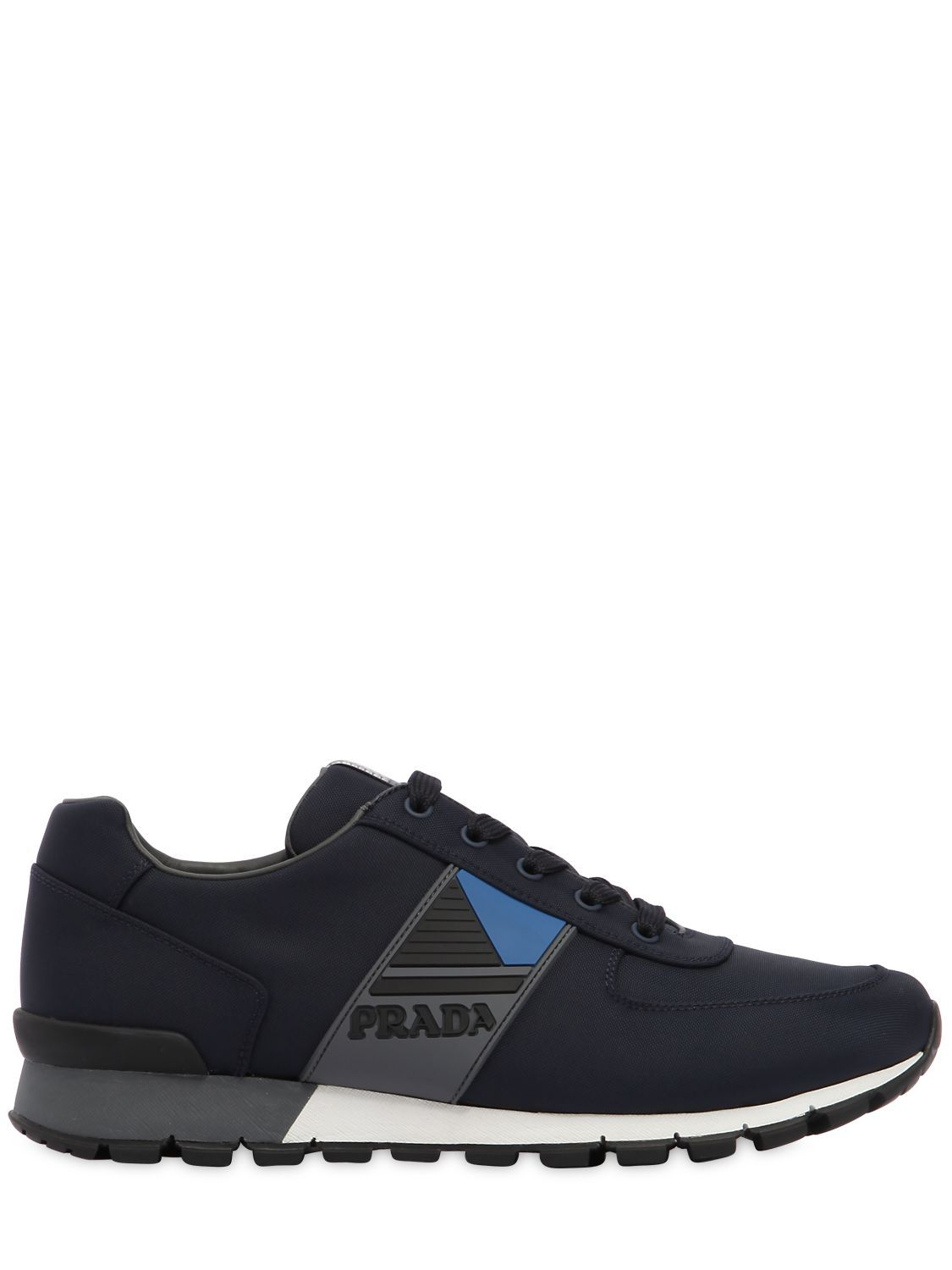 wholesale dealer 76cbb 18bb3 PRADA MATCH RACE CORDURA RUNNING SNEAKERS. prada shoes