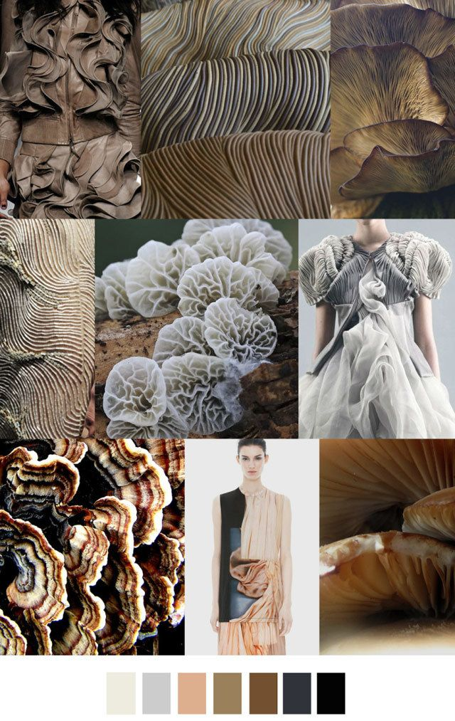 Design Trending Inspiration: #PatternCurator On #WeConnectFashion, Multicellular Forms