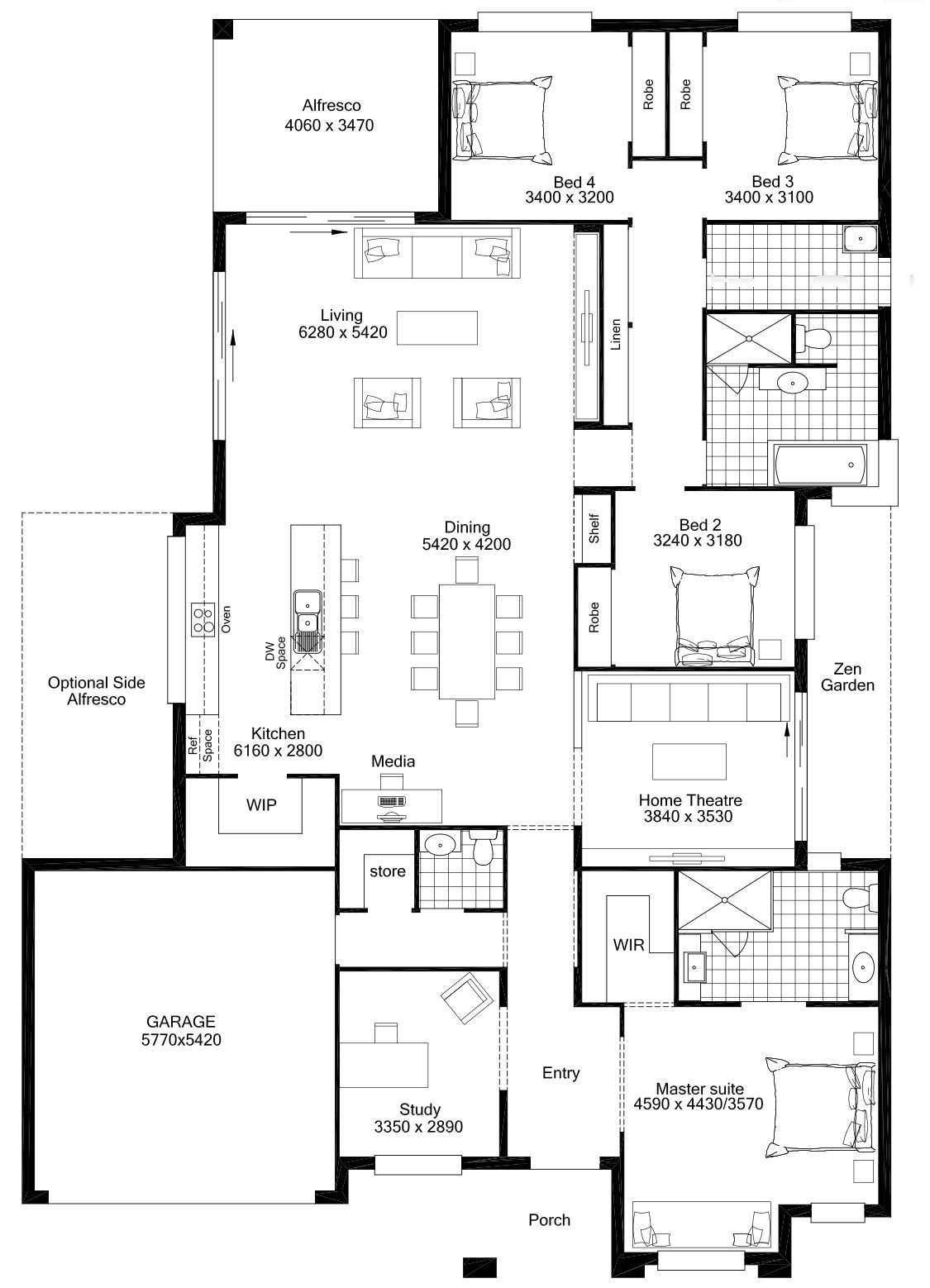 Aston | Dale Alcock Homes | House Plans | Pinterest | House ...