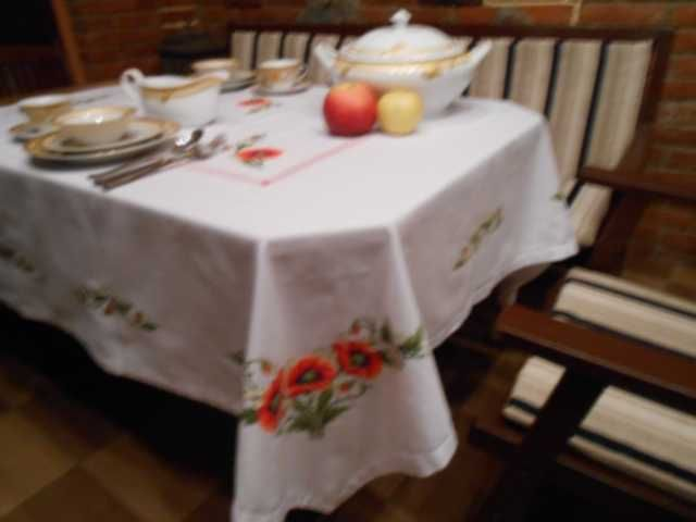 Extra Long Tablecloths