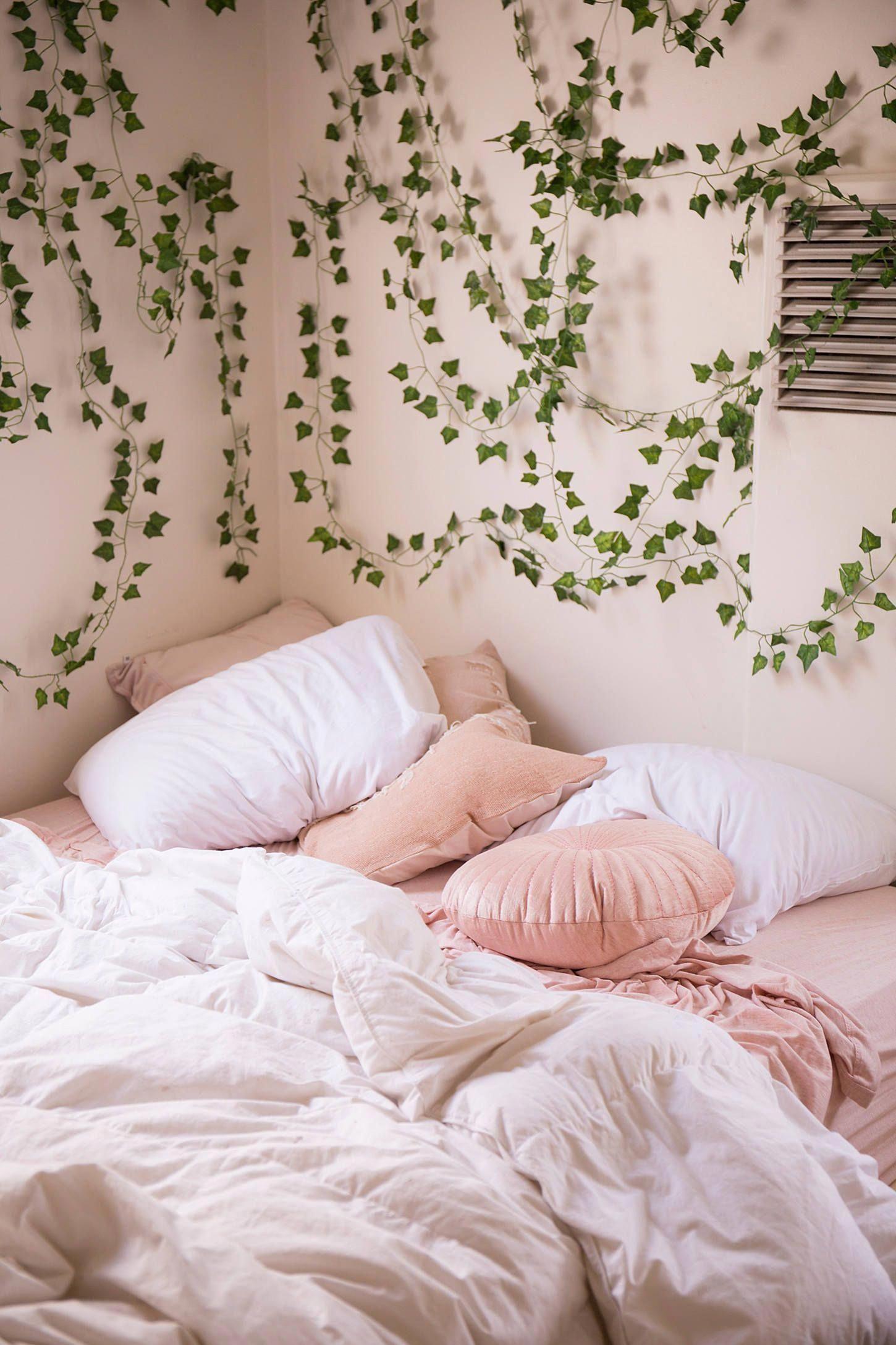 Decorative Vines Set In 2020 Cute Dorm Rooms Home Decor Bedroom