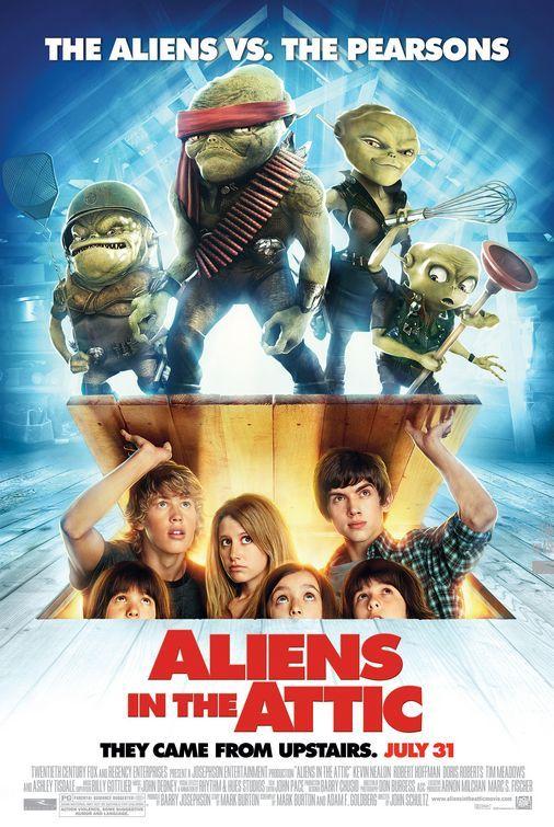 Movie Universum Aliens In The Attic 2009 Free Movies Online Kids Movies Movies Online