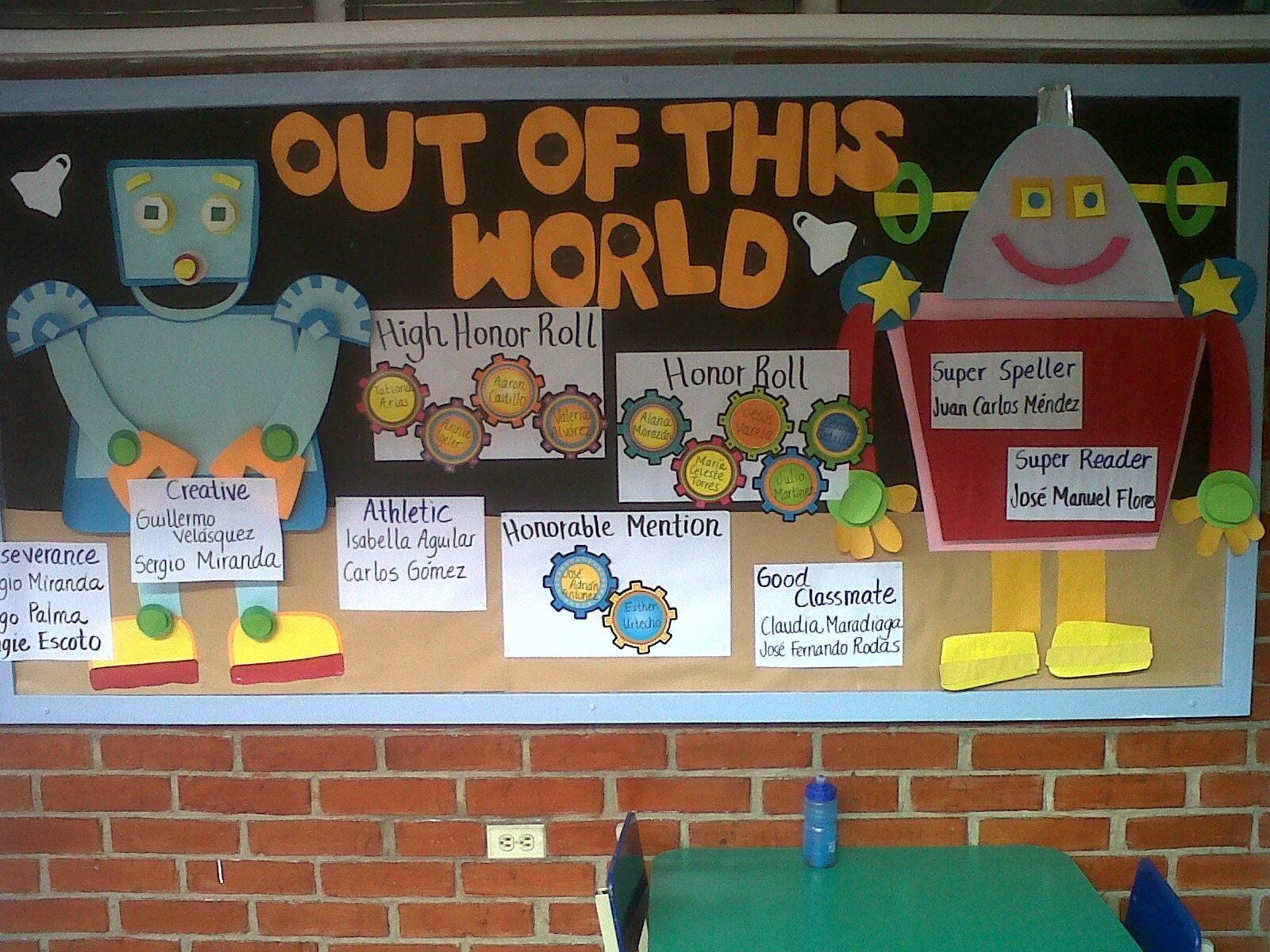 Bulletin Board OUT OF THIS WORLD