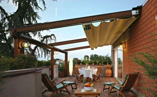 markisen balkon 17 design ideen markise falten | terrasse, Hause deko