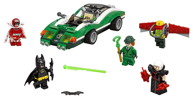 Batman The Riddler Riddle Racer Lego batman movie