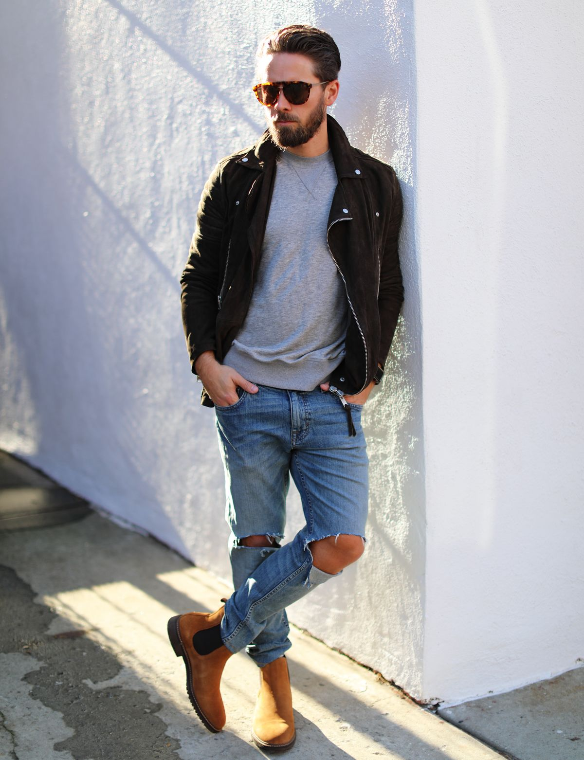 Steve Madden Bryson Chelsea Boots Review Outfit Ideas For Men Boots Outfit Men Chelsea Boots Outfit Brown Suede Chelsea Boots