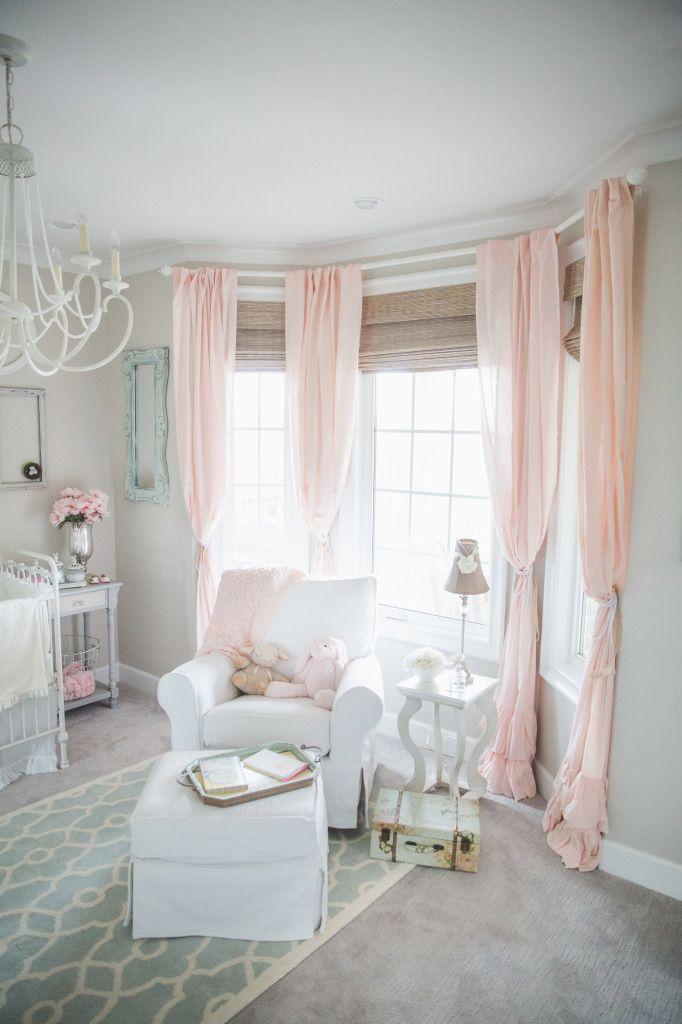 Dainty Soft And Sweet Nursery Baby Girl Room Sweet Nursery