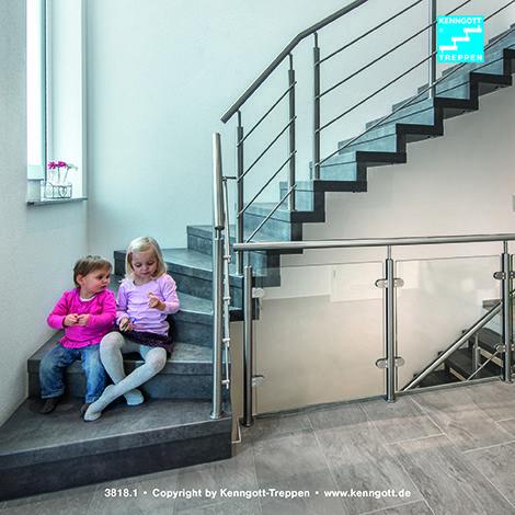 kenngott faltwerktreppe tokio mit tritt und setzstufen in schieferline longlife r9. Black Bedroom Furniture Sets. Home Design Ideas