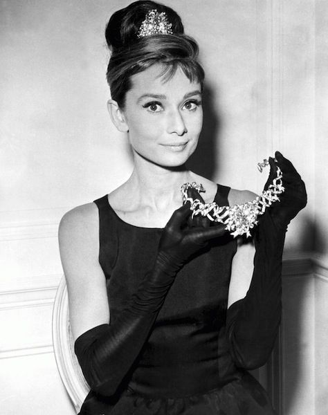 """Audrey Hepburn: """"My look is attainable. Women can look like Audrey Hepburn by flipping out their hair, buying the large sunglasses, and the little sleeveless dresses."""""""