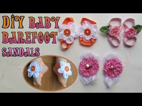 Summer Infant Kid Baby Girl Sole Crib Barefoot Ring Flower Pearl Shoe Sandals Bs