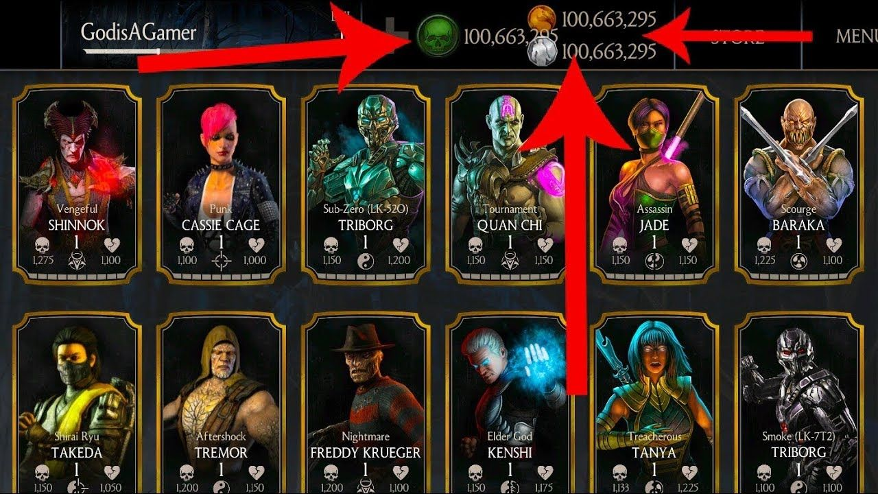 Mortal Kombat X Hack Coins, Souls and Alliance Points