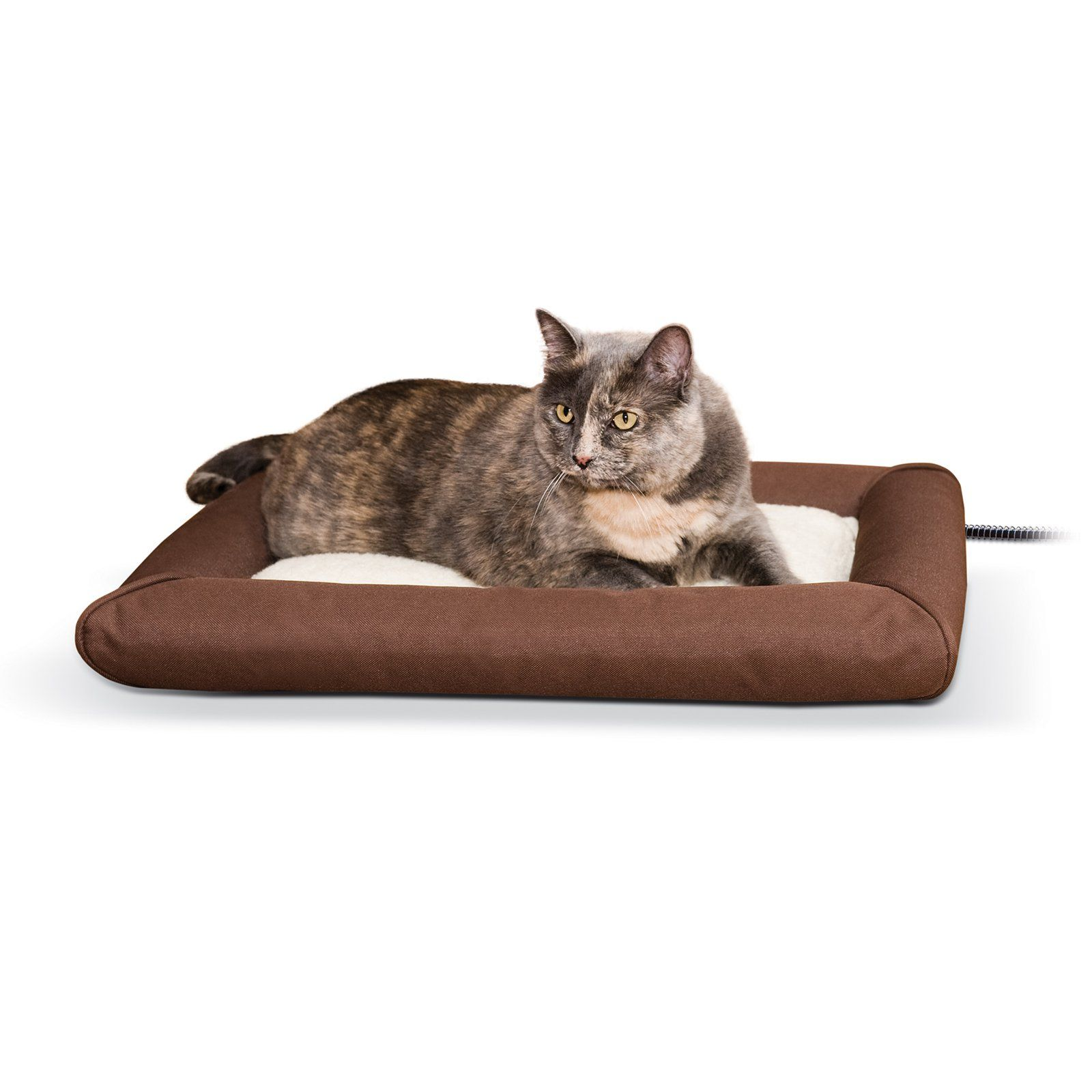 K H Pet Products Deluxe Lectro Soft Outdoor Heated Pet Bed Pets