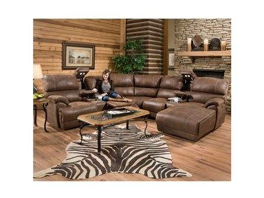 Shop For Franklin Empire 4 Piece Reclining Sectional