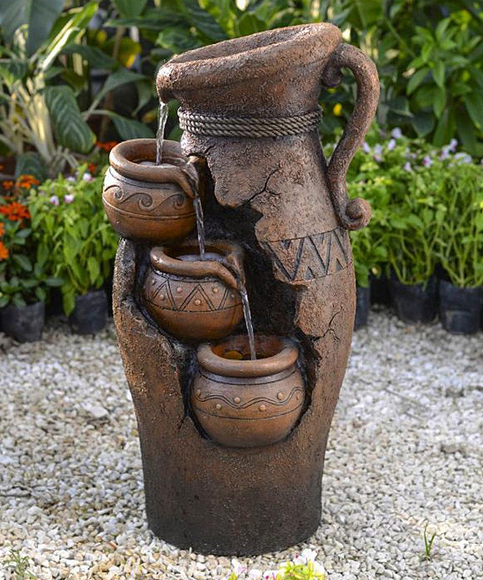 Love This Cracked Pot Fountain By Jeco Inc On Zulily