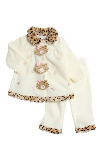 Young Hearts Baby-Girls Infant Cat Fleece Set « Clothing Impulse
