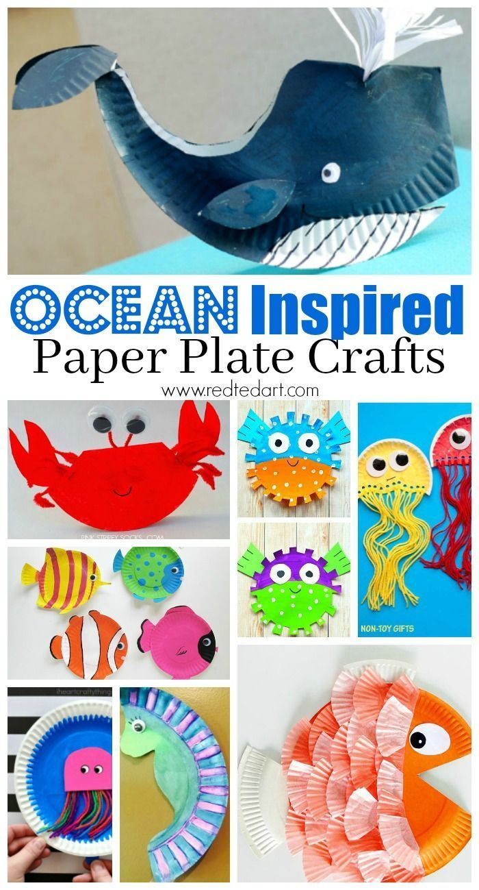 Under the Sea Paper Plate Crafts for Kids  sc 1 st  Pinterest & Under the Sea Paper Plate Crafts for Kids | Paper plate crafts ...