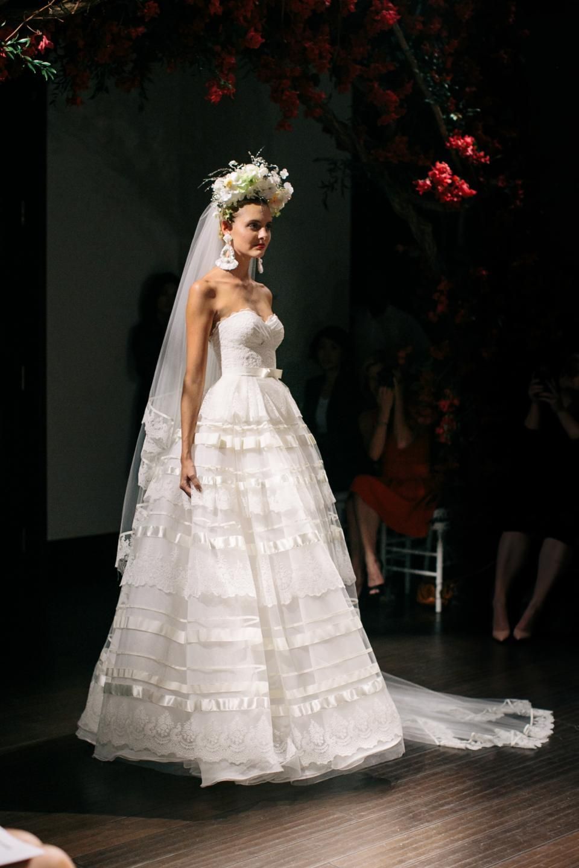 Naeem khan bridal fall wedding style inspiration lane