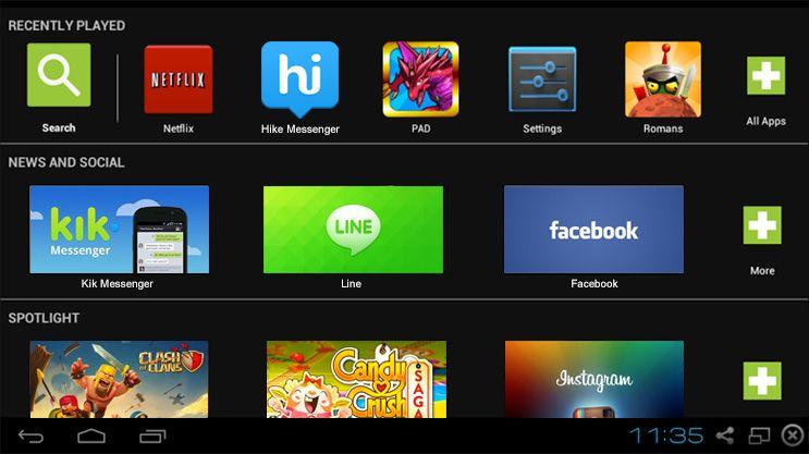 BlueStacks Com esse aplicativo é possível rodar o XBOX 360 SmartGlass no Windows 7!!! Taste it!