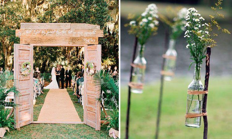 decoración de bodas al aire libre | boda coral y july | decoracion