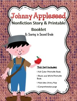 photo about Johnny Appleseed Printable Story identify The Tale of Johnny Appleseed Nonfiction Printable Reserve
