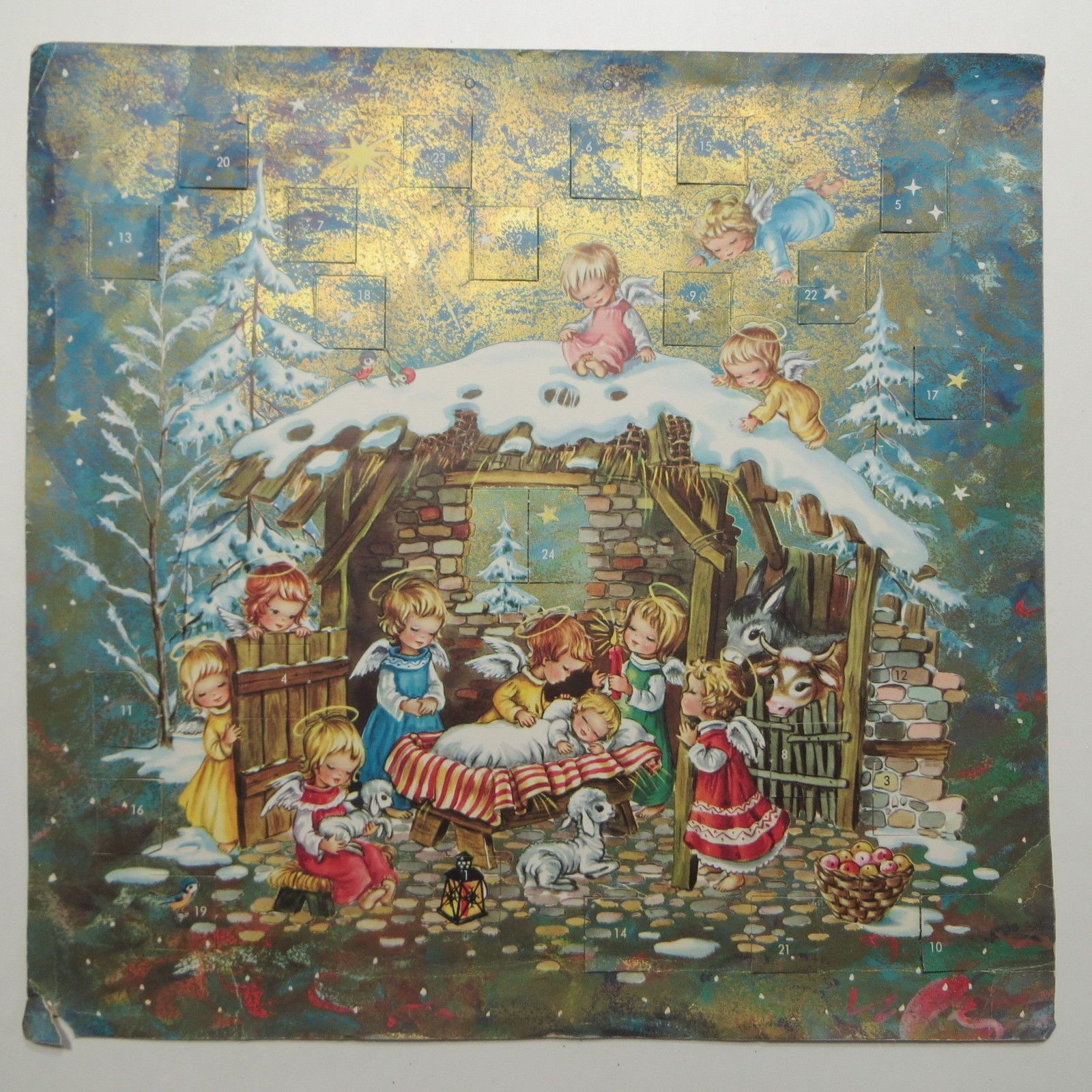 Image result for 1950s advent calendar""