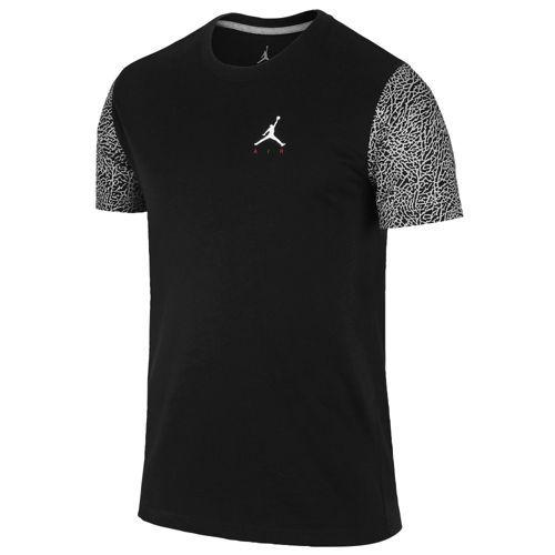 Black · Jordan Ele Sleeve T-Shirt - Men's