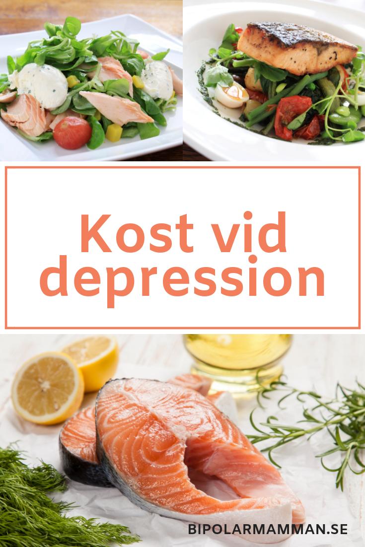 bra mat vid depression