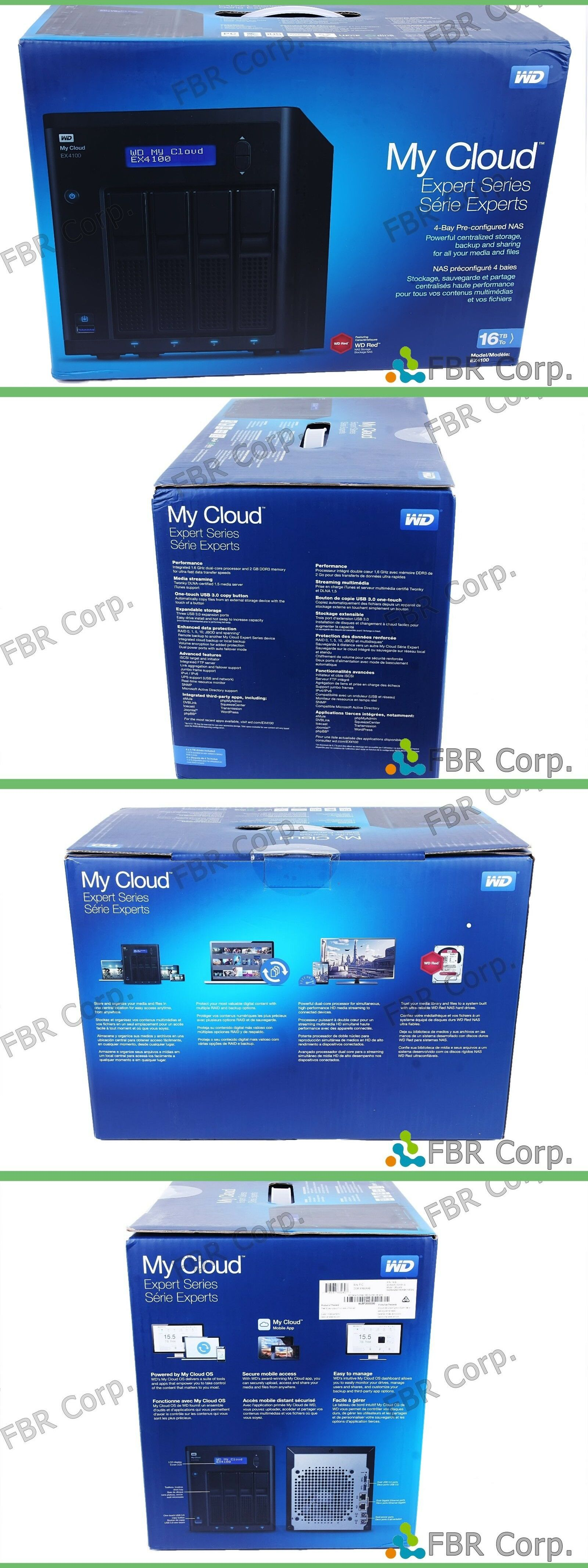 Network Attached Storage 106273: New Western Digital My Cloud Expert
