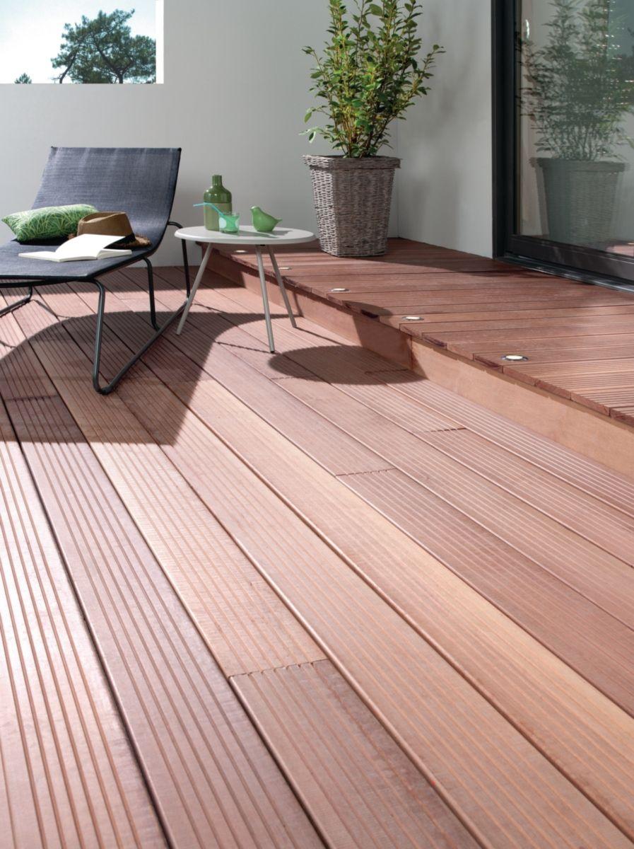 Lame De Terrasse Massaranduba Kd Cibm 20x145 Mm L 3 05 M Lame Terrasse Terrasse Decoration Exterieur