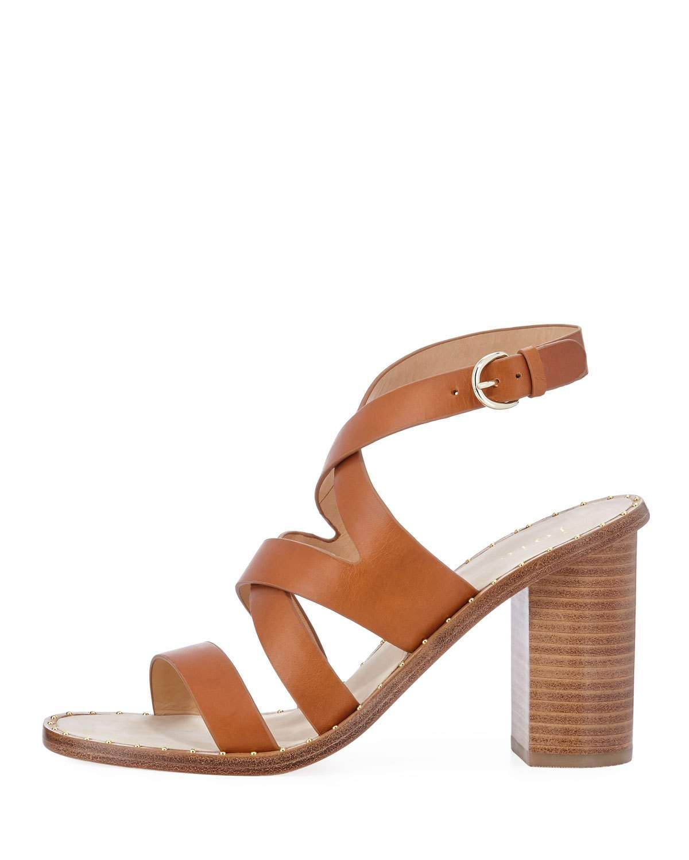2edd0a847e83 Joie Onfer Strappy Leather Block-Heel Sandal