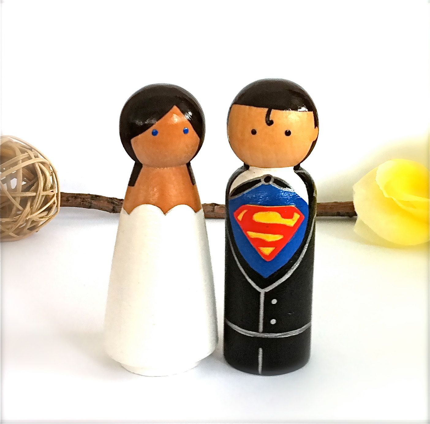 Cute wedding toppers The Big Day Pinterest