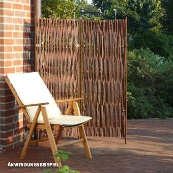 paravent skagen, 2-teilig, weide,<br />b: 190 x h: 180cm | garten, Garten ideen gestaltung
