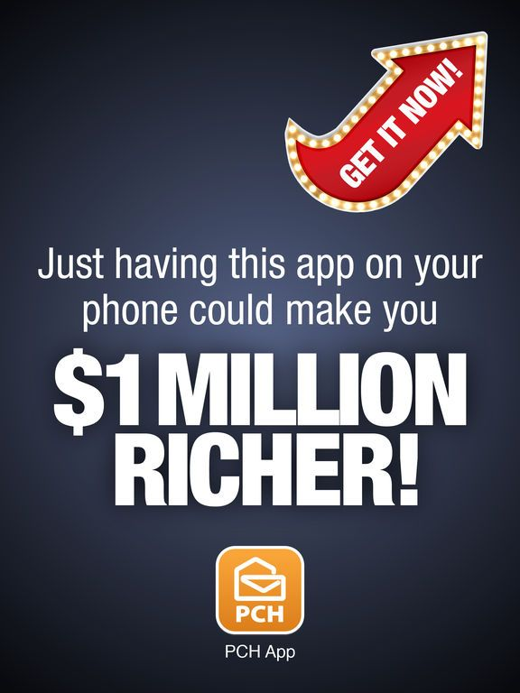 The PCH App: Cash Prizes, Sweepstakes & Mini Games on the