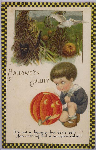 Winsch Halloween postcard   Flickr - Photo Sharing!