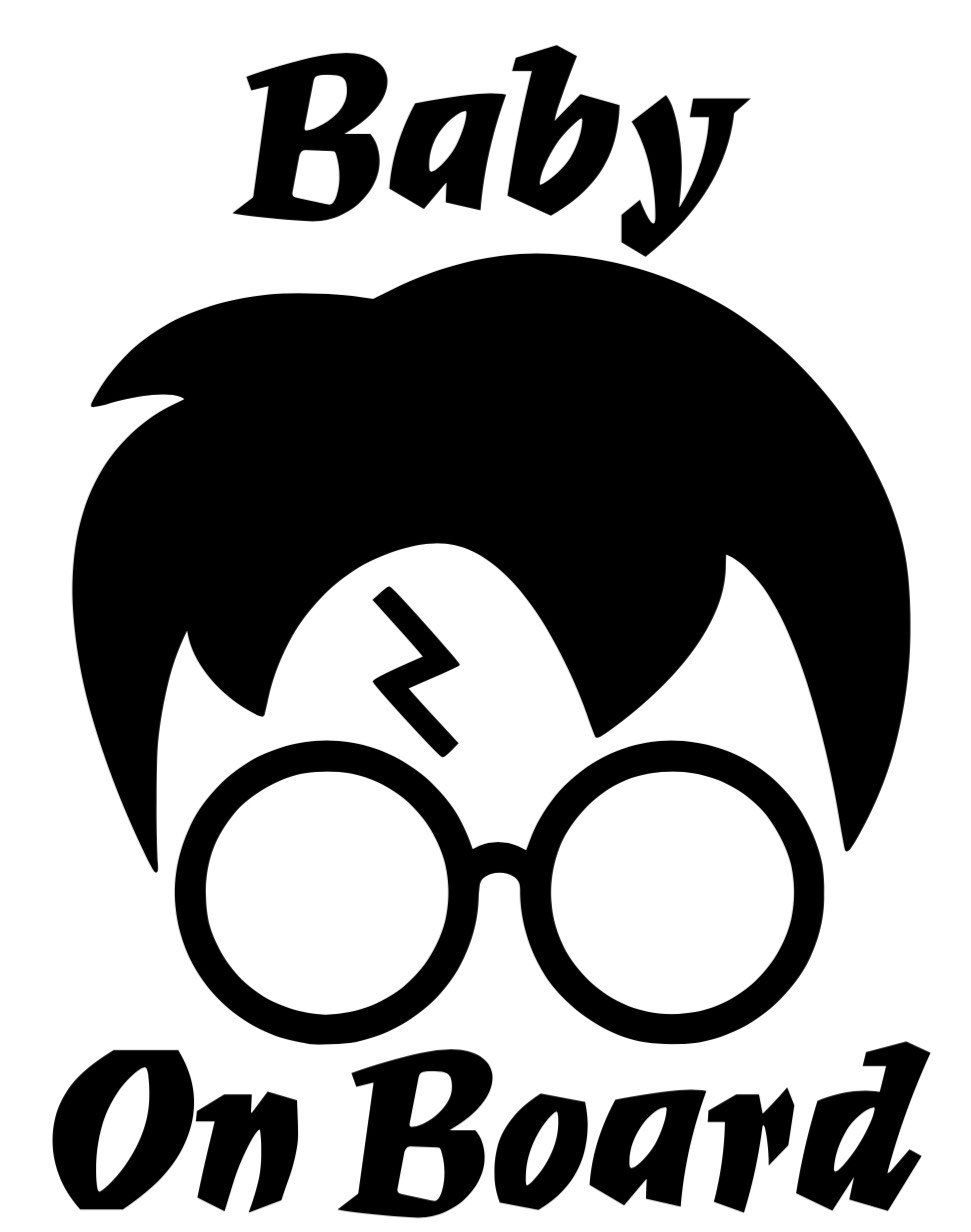 Harry Potter Baby On Board Decal By Blessyourhrtdsgns On Etsy Harry Potter Baby Baby Decals Harry Potter Decal [ 1232 x 971 Pixel ]