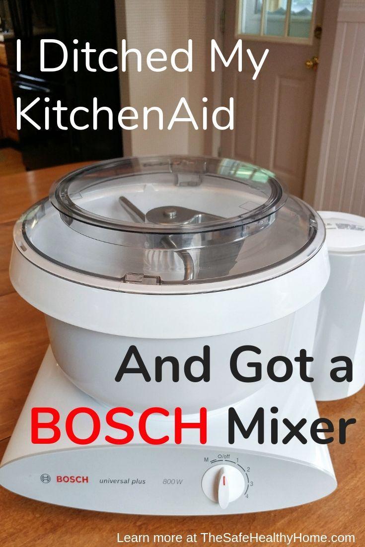 I ditched my kitchenaid and got a bosch mixer bosch