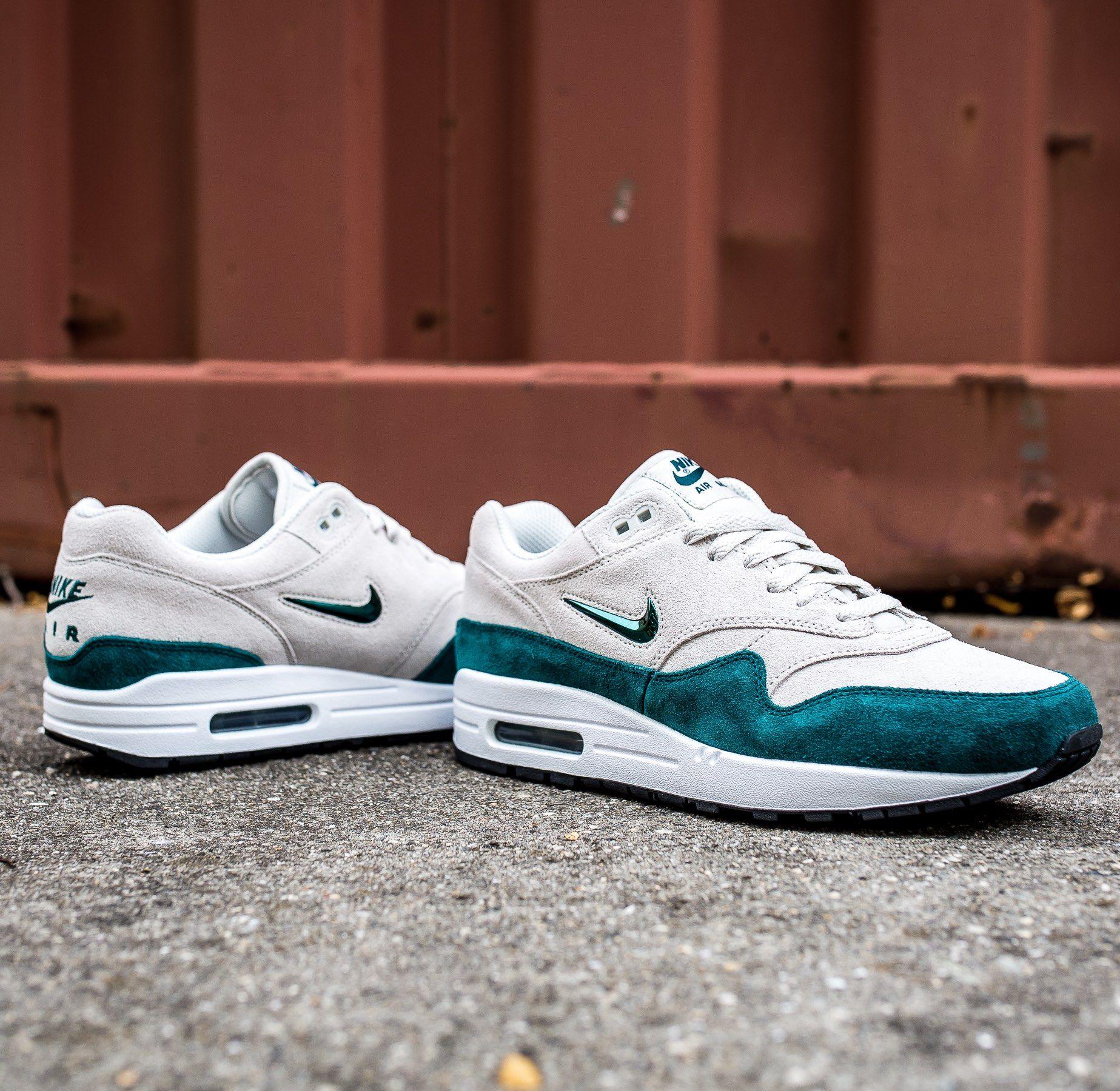 Nike Air WhiteMen's Sc Premium 1 Atomic Max Teal Sneakers wOPn0k