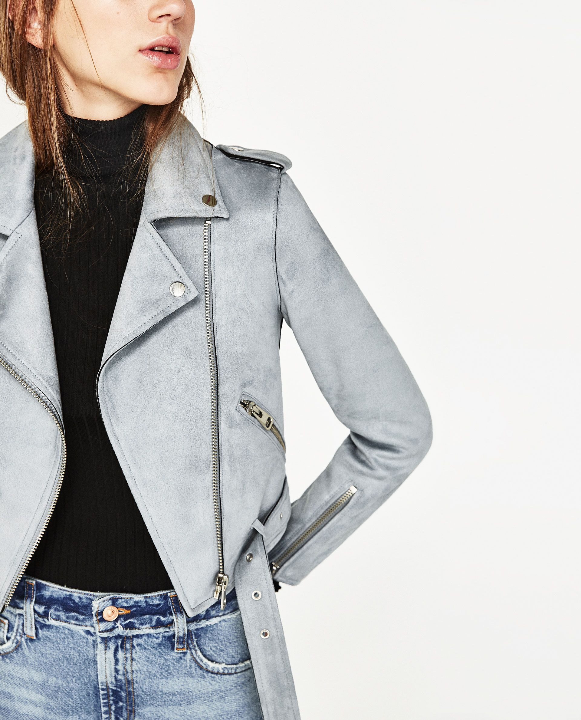 07748c6bd16 JACKET WITH ZIPS from Zara (under  100)