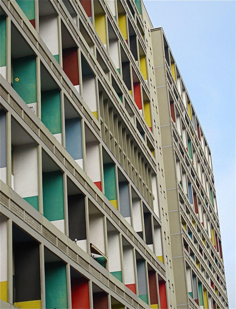 AD Classics: Unité d'Habition, Berlin,© Flickr User: ChicagoGeek