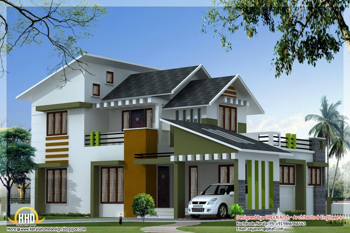 [ Square Feet Bedroom Modern Villa Architecture House Plans Square Feet  Bedroom Contemporary Kerala Villa Design ]   Best Free Home Design Idea U0026  ...