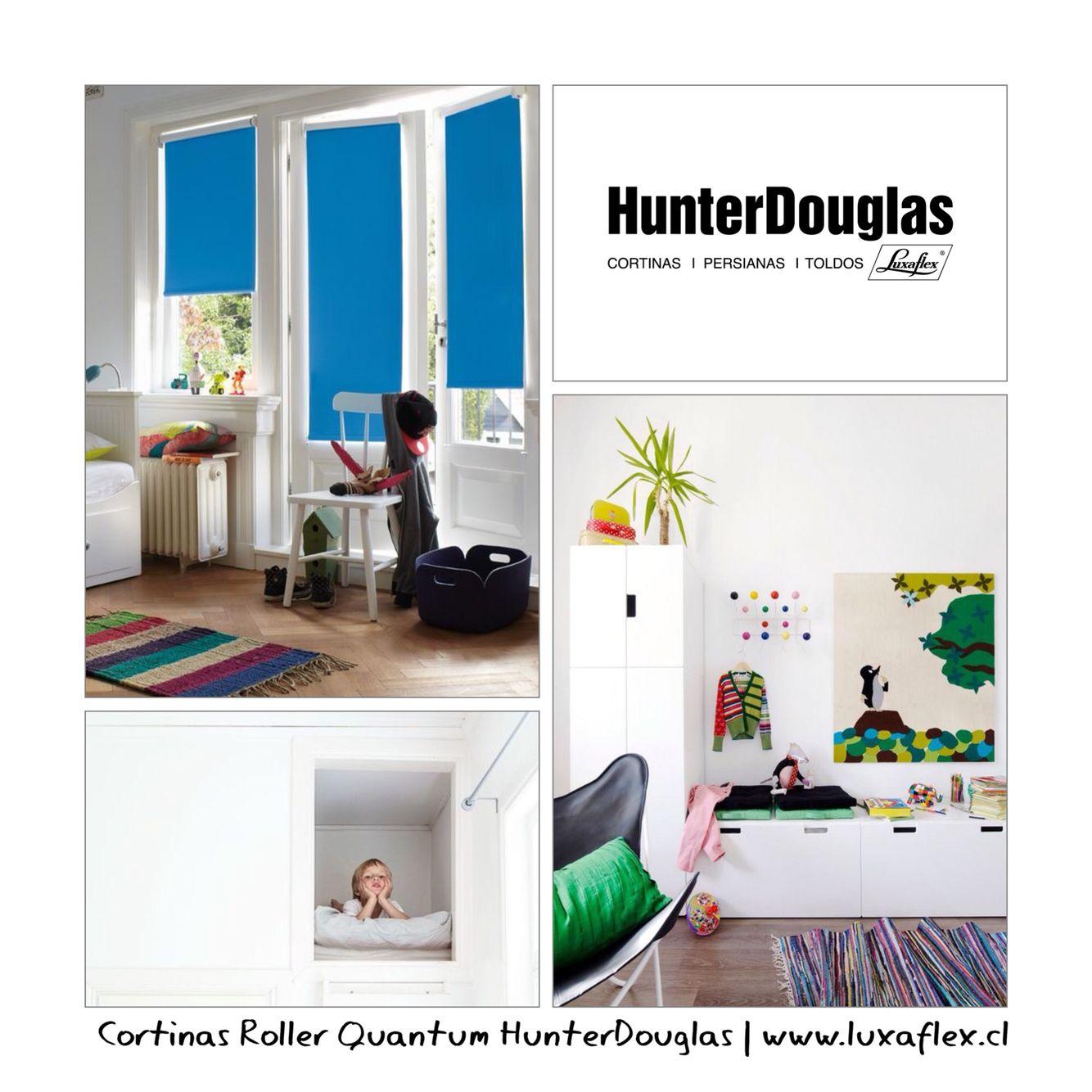 #Tip #KidsRoom #Roller #HunterDouglas #aprenderjugando El color azul estimula la creatividad.  www.luxaflex.cl