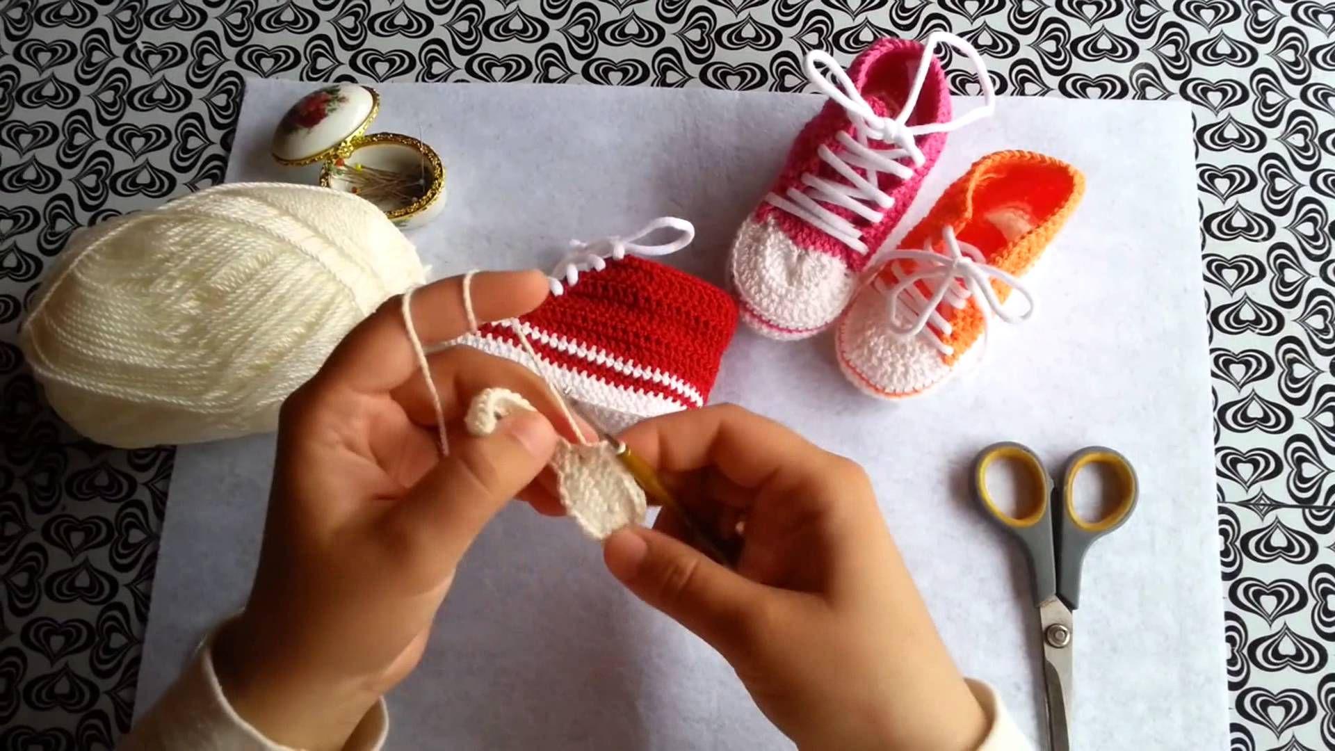 Converse Bebek Patik Yapımı (8) | Bebek patik, Bebek, Converse | 1080x1920
