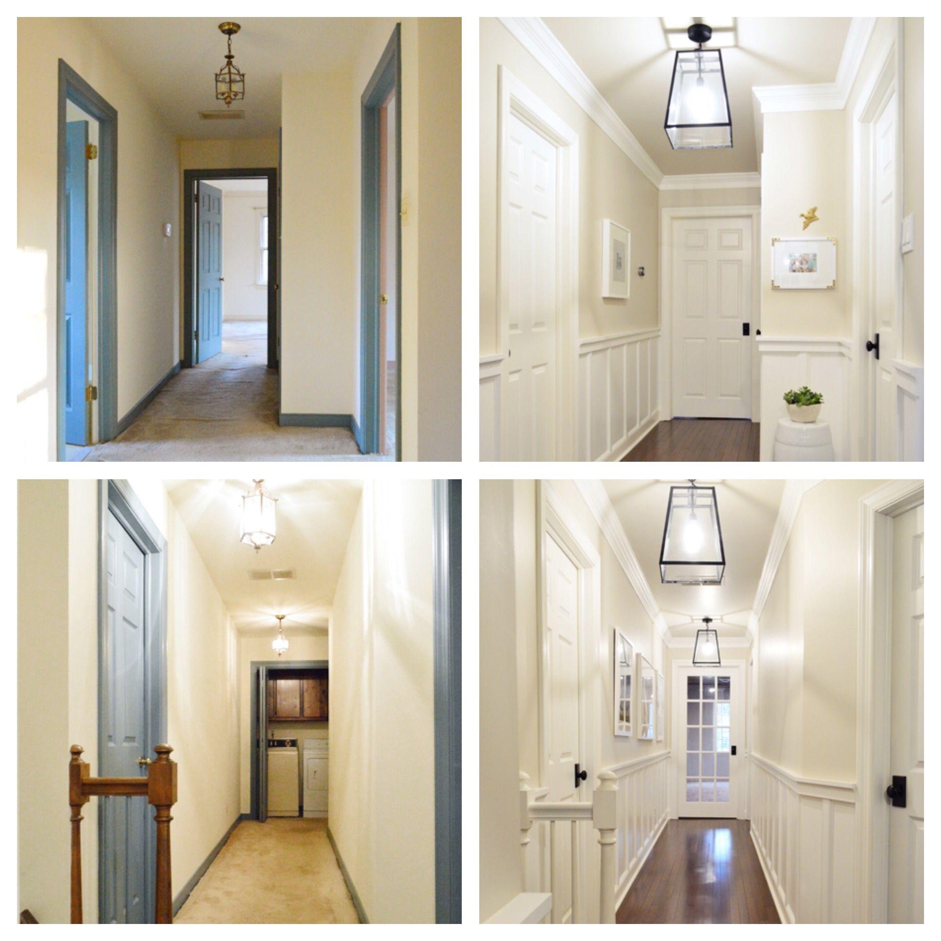 Corner hallway storage cabinet  Decking The Halls With
