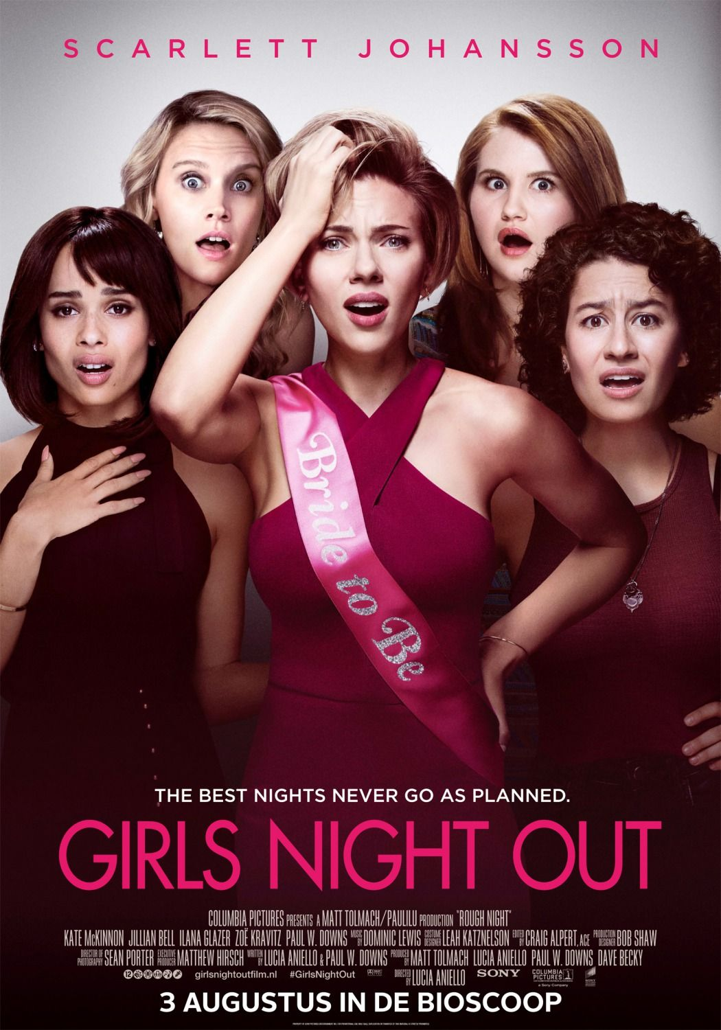 Return To The Main Poster Page For Rough Night 11 Of 12 Rough