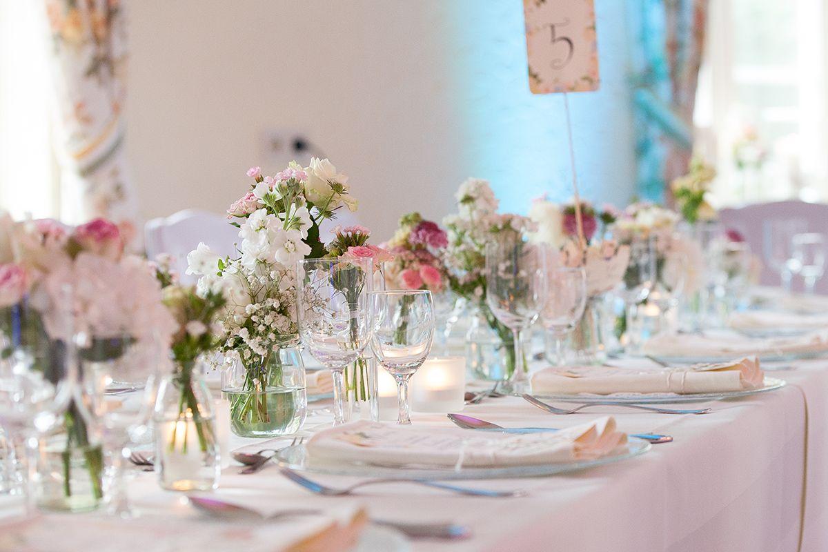 Blumendeko Hochzeit Tisch blumendeko tisch hochzeit