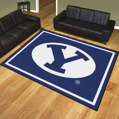 Fanmats Brigham Young University 8x10 Ft Rug 17399 Rugs On